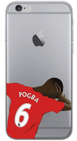 Pogba Phone Case (Soft Transparent)