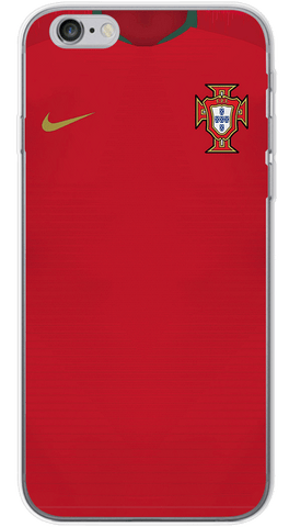 Portugal World Cup 2017/18 Phone Case (Soft Transparent)