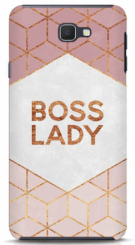 Boss Lady Samsung J7 prime Case