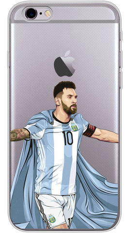 Super Messi Phone Case (Soft Transparent)