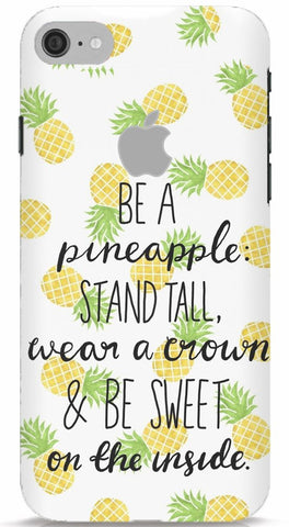 Be A Pineapple iPhone 7 Apple Cut