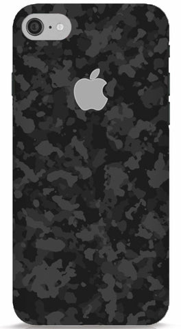 Black Camo iPhone 6/6S Apple Cut