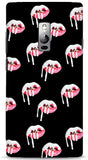 Kylie Jenner Lips (Black) Phone Case