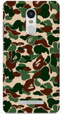 Khaki Bape Camo iPhone 6/6S Case