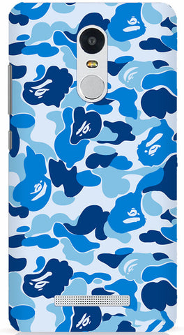 Blue Bape Camo Xiaomi Redmi Note 3 Case