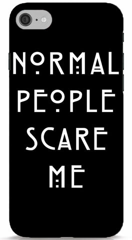 Normal People Scare Me iPhone 6/6S Case