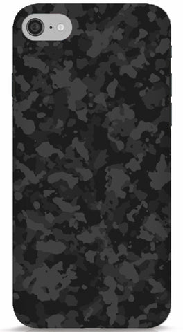 Black Camo Phone Case