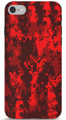 Blood Camo iPhone 7