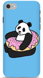 Panda In A Donut Phone Case