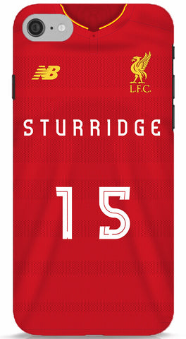 Sturiddge Liverpool FC Jersey Jersey Phone Case