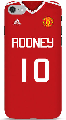 Rooney Manchester United Jersey Phone Case