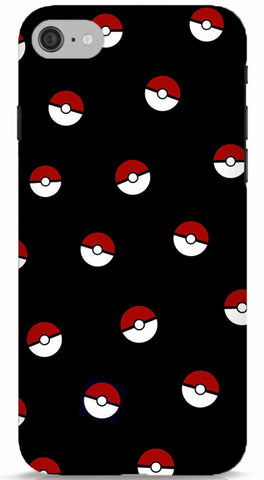 Pokeballs In The Night Sky iPhone 6/6S Case