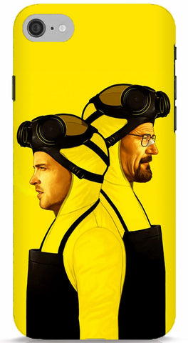 Walter White and Jesse Pinkman Phone Case