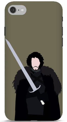 Jon Snow Minimalistic Phone Case