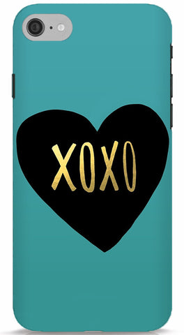 Gold XOXO Phone Case