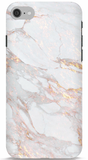 White and Gold Marble Phone Case
