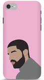 Drake Minimal (Pink) iPhone 6/6S Case
