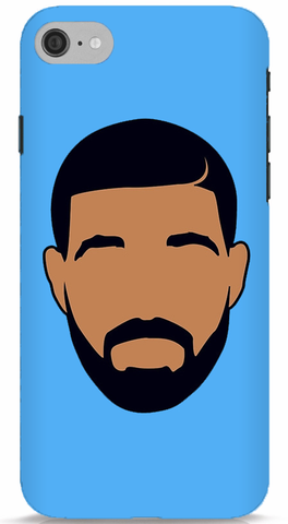 Drake Minimal (Blue) iPhone 6/6S Case