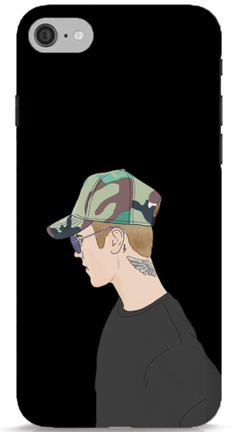 Justin Bieber Side Art Phone Case