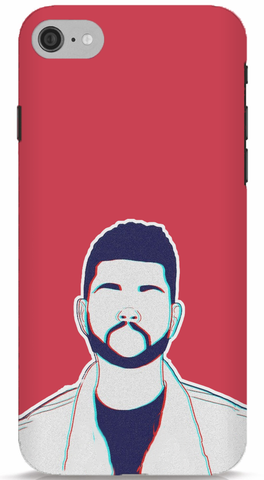 The Weeknd (Red) Phone Case