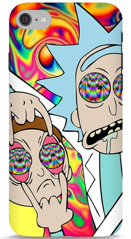 Rick and Morty Tripping iPhone 7 Case