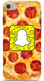 Pizza Custom Snapcode Phone Case