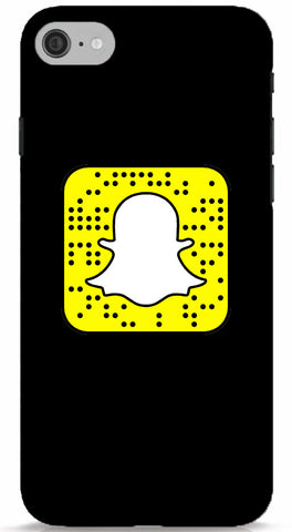 Basic Black Custom Snapcode iPhone 6/6S Case