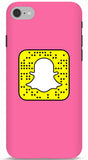 Basic Pink Custom Snapcode iPhone 6/6S Case