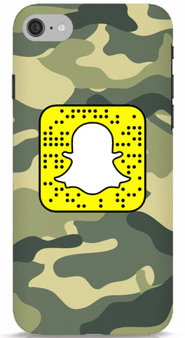 Camo Custom Snapcode iPhone 6/6S Case
