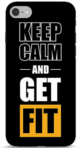 Keep Calm and Get Fit Phone Case
