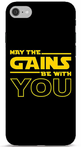 May The Gains Be With You Phone Case