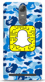Blue Camo Custom Snapcode iPhone 6/6S Case