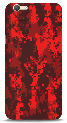Blood Camo Oppo F1s Case