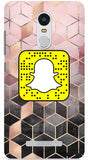 Water Colour Cubes Custom Snapcode Phone Case