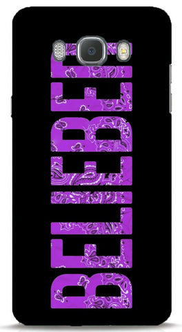 Belieber (Purple) Samsung J7 2016 Case