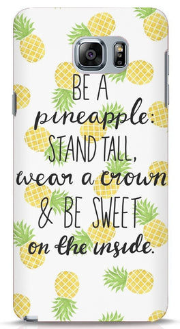 Be A Pineapple Samsung Galaxy Note 5 Case