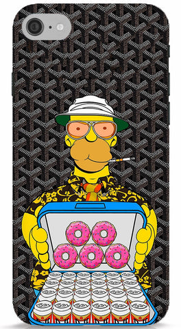 Homer Simpson With Munchies Phone Case