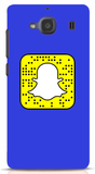 Basic Blue Custom Snapcode iPhone 6/6S Case