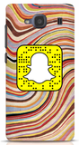 Waves Custom Snapcode Phone Case