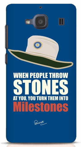 When People Throw Stones At You Turn Them Into Milestones Xiaomi Redmi 2/Prime Case