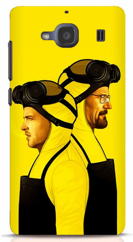 Walter White and Jesse Pinkman Xiaomi Redmi 2/Prime Case