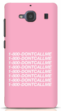 1800-DONTCALLME Phone Case