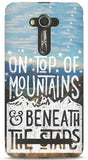 On Top Of Mountains & Beneath The Stars Phone Case