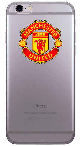 Manchester United Football Club Phone Case (Soft Transparent)