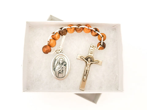 One Decade Rosary/St Therese Sacrifice Beads