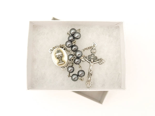 Silver One Decade Rosary