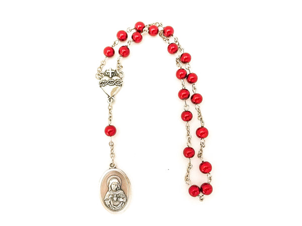 Two Hearts of Jesus and Mary Catholic Chaplet