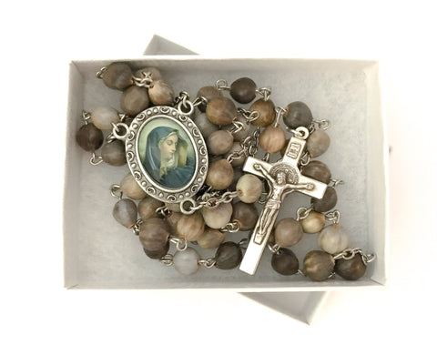 Job's Tears/Mary's Tears Catholic Rosary