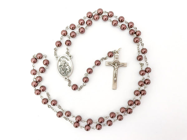 St Joseph Brown Catholic Rosary