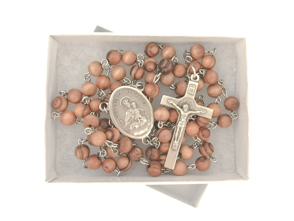Brigittine/Carmelite Crown Chaplet (Six Decade Rosary)